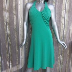 BOGO 50% OFF Medium Boho Maxi Dress Green Sleevele